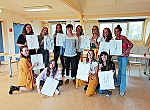 workshop naaktmodel tekenen belgië