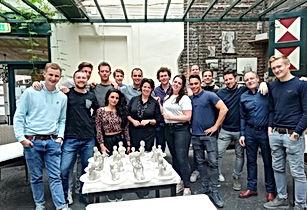 naaktmodel boetseren Den Haag Luna Degas