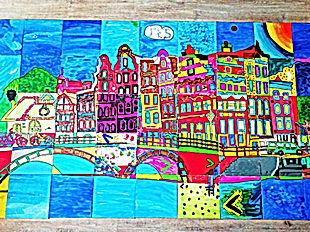 Puzzelschilderij Rotterdam