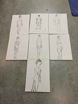 workshop naaktmodel tekenen
