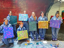 workshop action painting