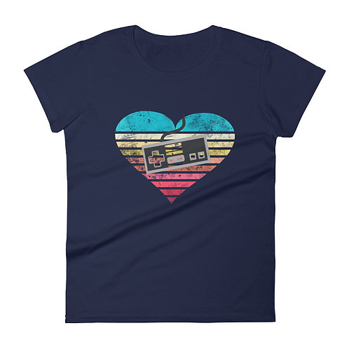 Retro Love ~ NES - Women's Tee