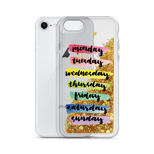 Dayz - Liquid Glitter iPhone Case