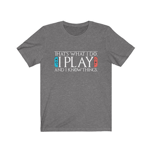 Play & Know - Unisex Tee