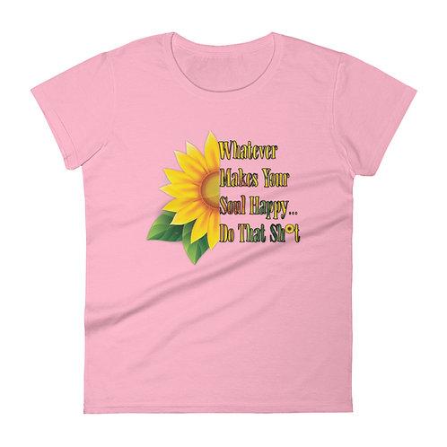 Happy Soul Sunflower - Women's Tee