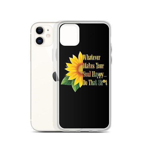 Happy Soul Sunflower - iPhone Case