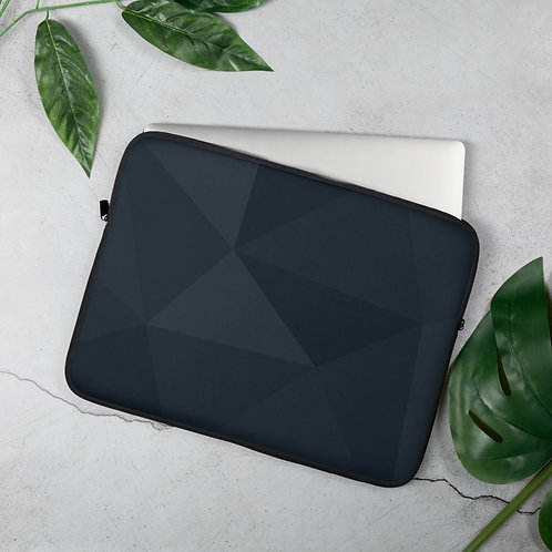 Black Abstract - Laptop Sleeve