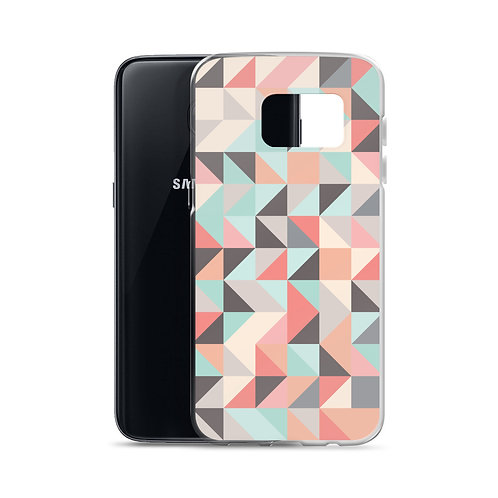 Abstract Triangles - Samsung Case