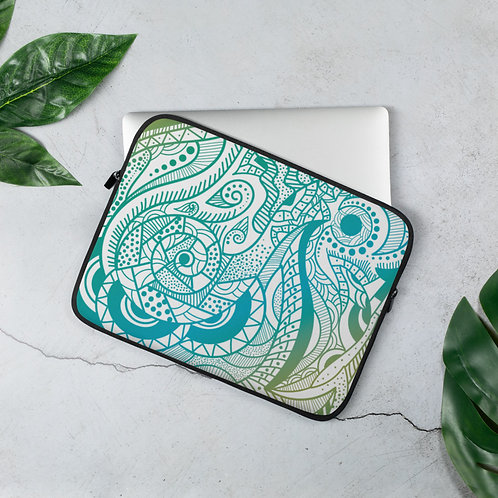 Abstract Florals - Laptop Sleeve