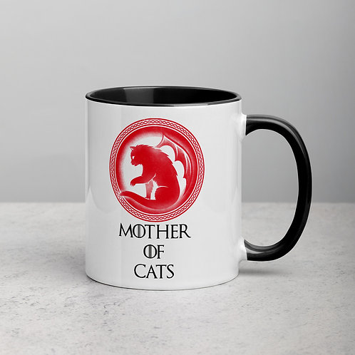 Mother of Cats - Mug with Color Inside