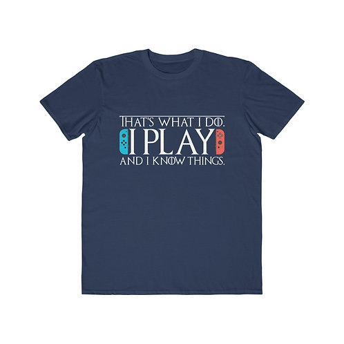 Play & Know - Men's Tee