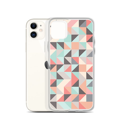 Abstract Triangles - iPhone Case