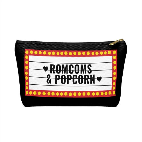 Romcoms & Popcorn - Deluxe Accessory Pouch
