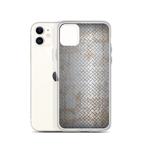 Rustic Metal - iPhone Case