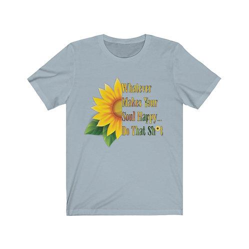 Happy Soul Sunflower - Unisex Tee