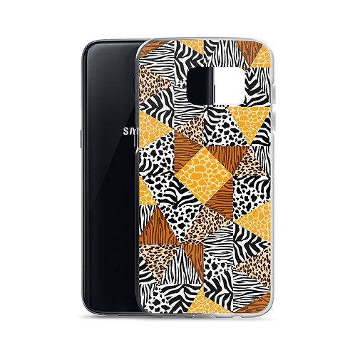 Wild Collage (Ver. 1) - Samsung Case