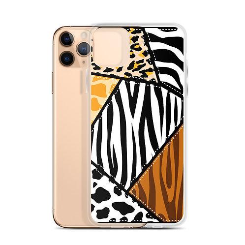Wild Collage (Ver. 2) - iPhone Case