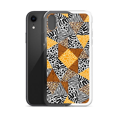 Wild Collage (Ver. 1) - iPhone Case