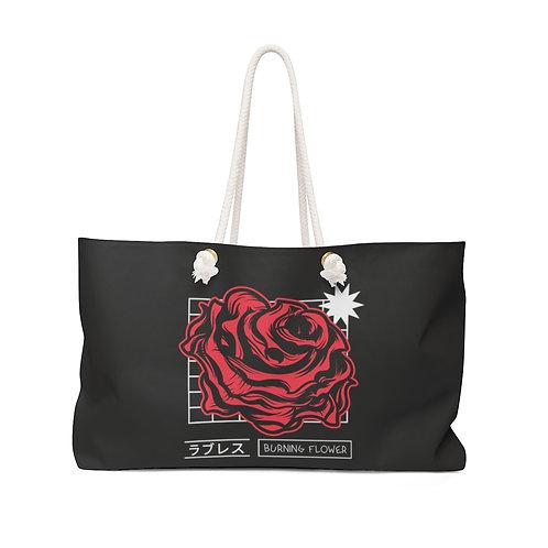 Burning Flower - Weekender Bag