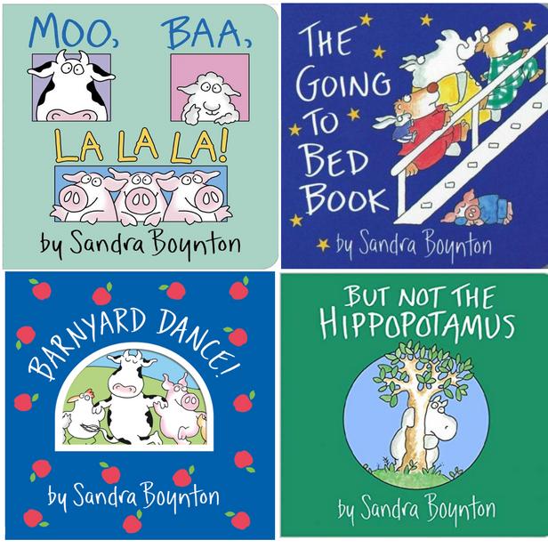 Sandra Boyton Books