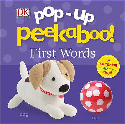 Pop-Up Peekaboo - First Words