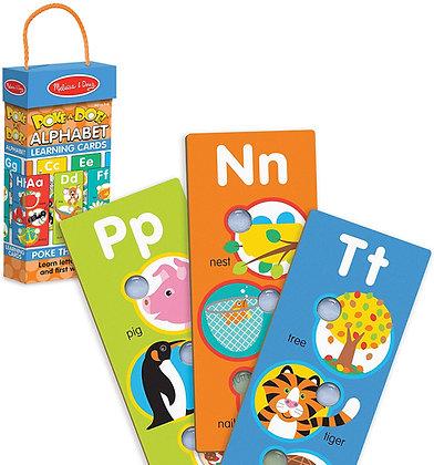 Poke-a-Dot Learning Cards