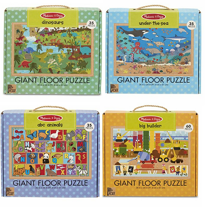 Natural Play Floor Puzzles