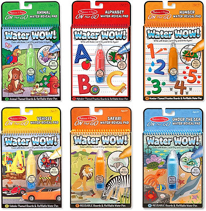 Water Wow! On-the-Go Activity Pad