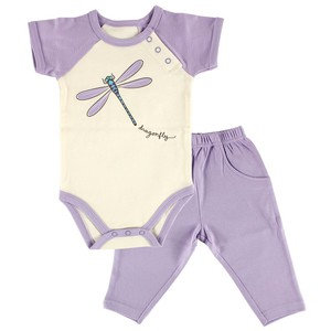Organic Cotton Outfit - Dragon Fly