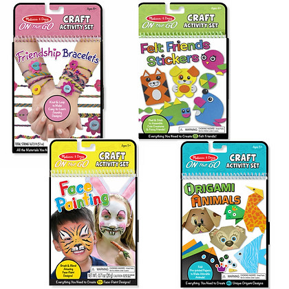On the Go - Craft Activity Sets