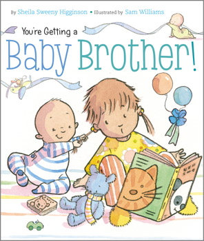 You're Getting A Baby Brother Boardbook