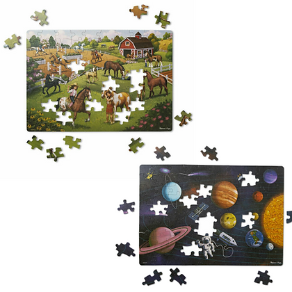 Natural Play Jigsaw Puzzles (100-piece)