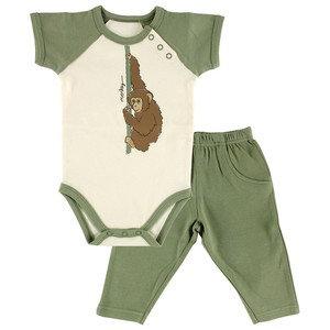 Organic Cotton Outfit - Monkey