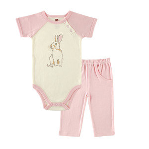 Organic Cotton Outfit - Bunny