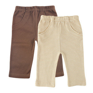 Organic Cotton Pants 2-Pack