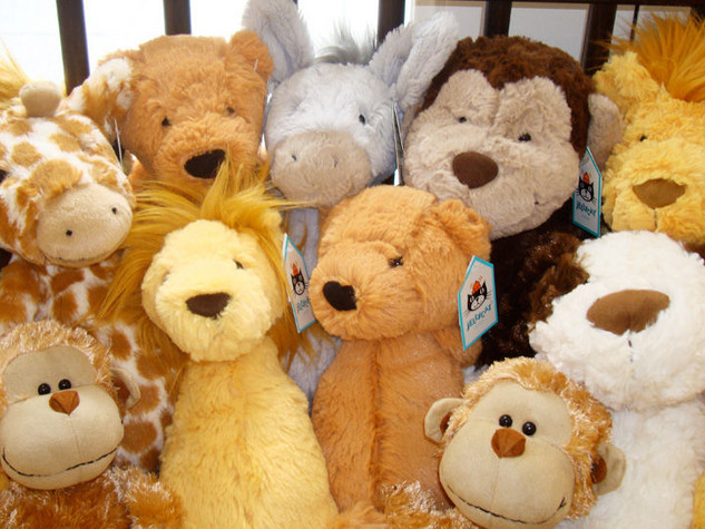 Jellycat Stuffed Animals and Books
