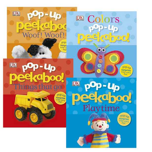 Pop-Up Peekaboo Books