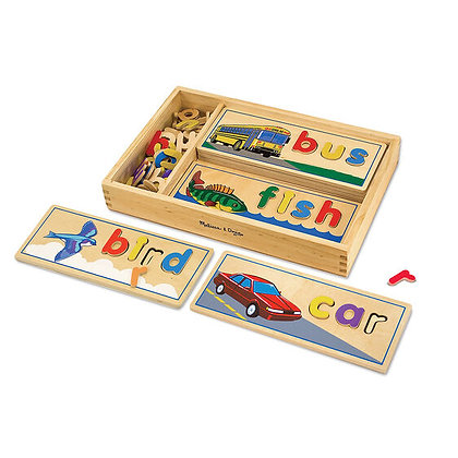 See and Spell Puzzles