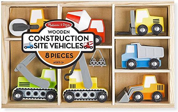 Construction Site Vehicles Set