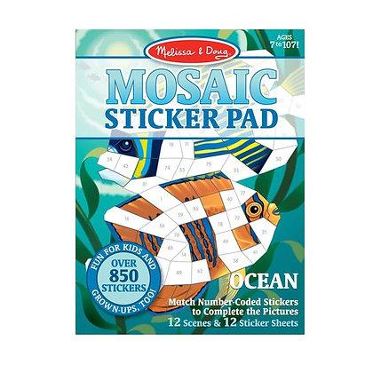 Mosaic Sticker Pads
