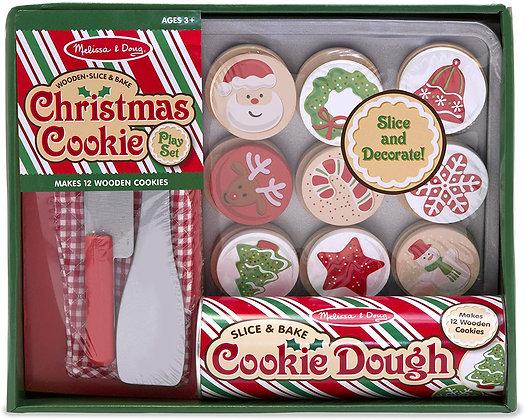 Slice and Bake Christmas Cookie Set