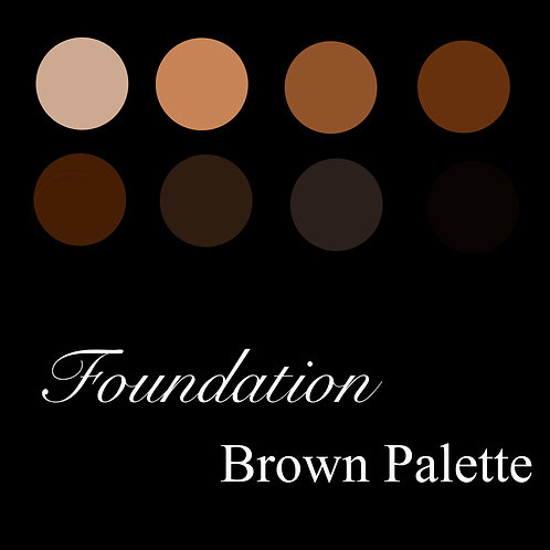 Foundation Brown Palette