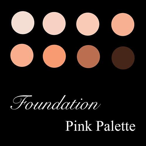Foundation Pink Palette
