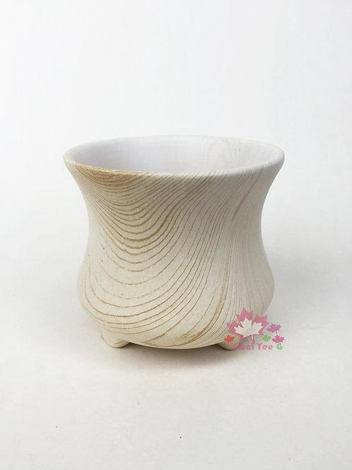 木紋陶瓷花盆