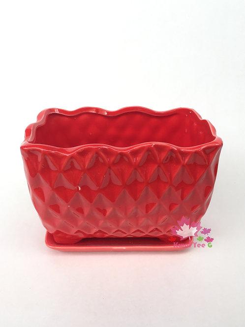 長方形陶瓷花盆
