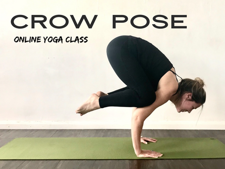 ONLINE CLASS | Crow pose