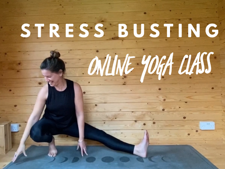 ONLINE FLOW CLASS | Stress busting