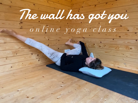ONLINE CHILLED CLASS   The wall has got you