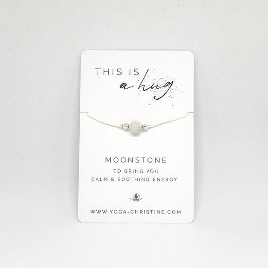 Moonstone Hug Bracelet