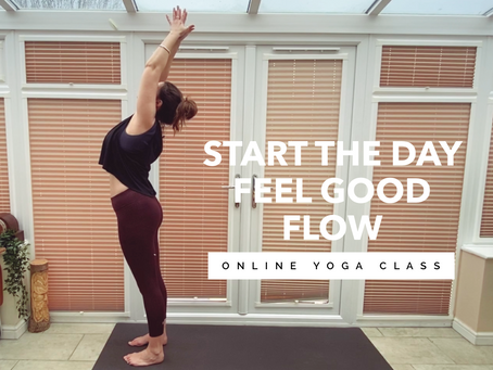 ONLINE FLOW CLASS | Start the day feel good flow